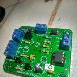 Componentes en PCB disparador fotografico